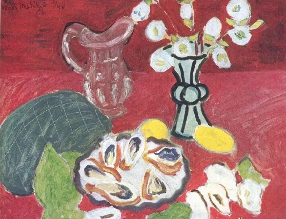 与毕加索并称为20世纪世界美术的两座高峰!马蒂斯静物作品集,震撼出炉!插图78