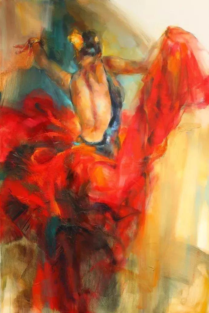 热情奔放的舞蹈美女,美得让人如痴如醉插图2
