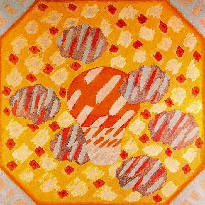 鲜艳的颜色和模糊的形状,极具象征性!西班牙画家胡安·阿吉雷插图2