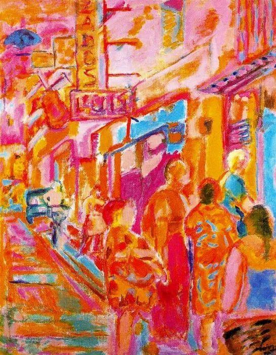 鲜艳的颜色和模糊的形状,极具象征性!西班牙画家胡安·阿吉雷插图3