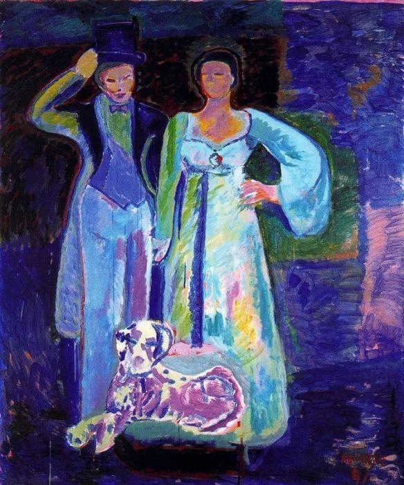 鲜艳的颜色和模糊的形状,极具象征性!西班牙画家胡安·阿吉雷插图4