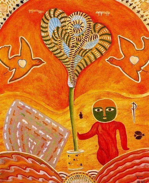 鲜艳的颜色和模糊的形状,极具象征性!西班牙画家胡安·阿吉雷插图8