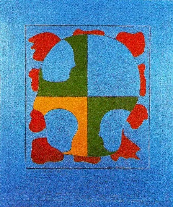 鲜艳的颜色和模糊的形状,极具象征性!西班牙画家胡安·阿吉雷插图10
