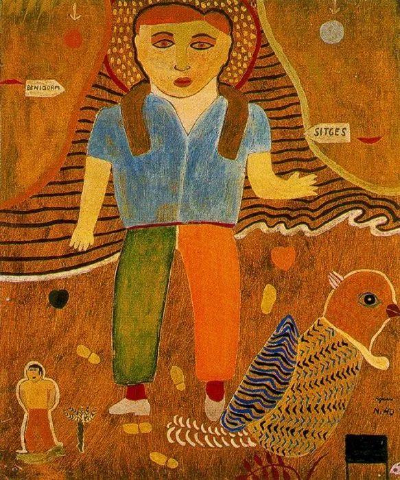 鲜艳的颜色和模糊的形状,极具象征性!西班牙画家胡安·阿吉雷插图11