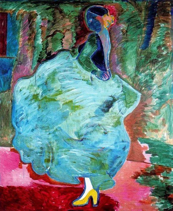 鲜艳的颜色和模糊的形状,极具象征性!西班牙画家胡安·阿吉雷插图13