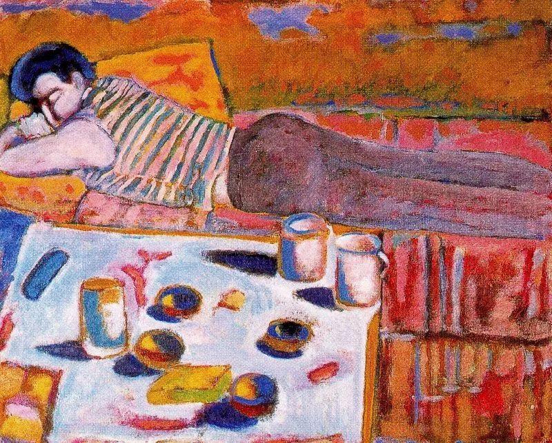 鲜艳的颜色和模糊的形状,极具象征性!西班牙画家胡安·阿吉雷插图14