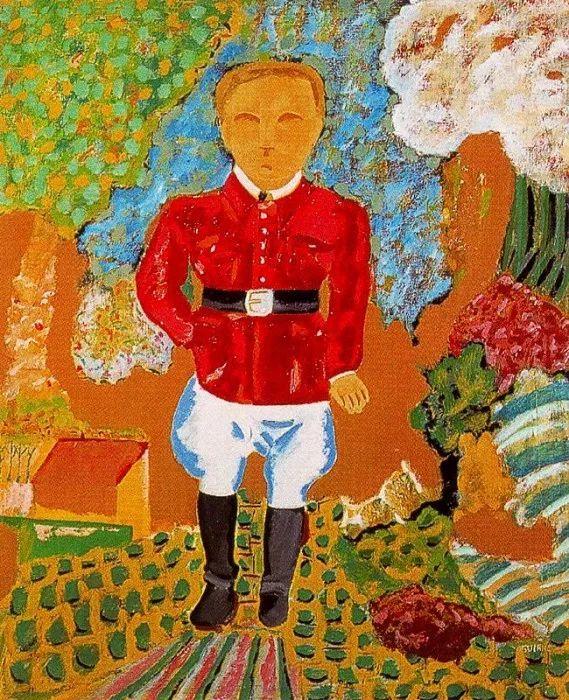 鲜艳的颜色和模糊的形状,极具象征性!西班牙画家胡安·阿吉雷插图15