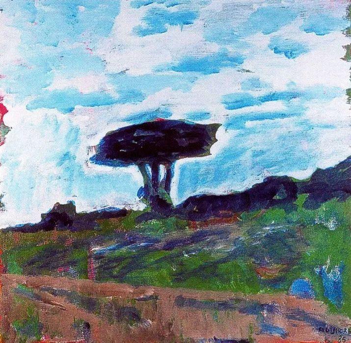 鲜艳的颜色和模糊的形状,极具象征性!西班牙画家胡安·阿吉雷插图18