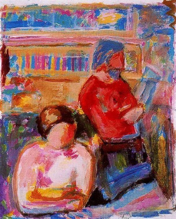 鲜艳的颜色和模糊的形状,极具象征性!西班牙画家胡安·阿吉雷插图19