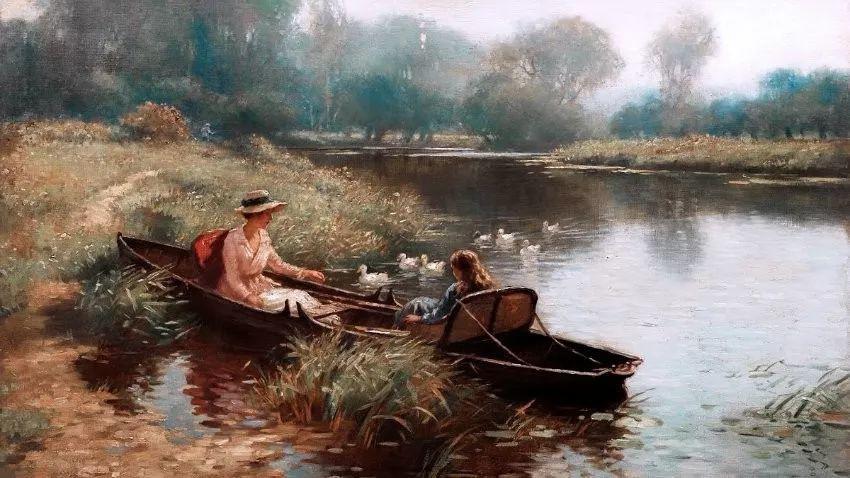 慢生活,英国画家威廉·凯·布莱克洛克插图9