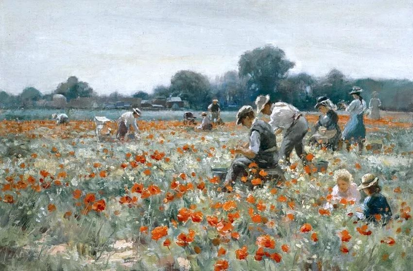 慢生活,英国画家威廉·凯·布莱克洛克插图10