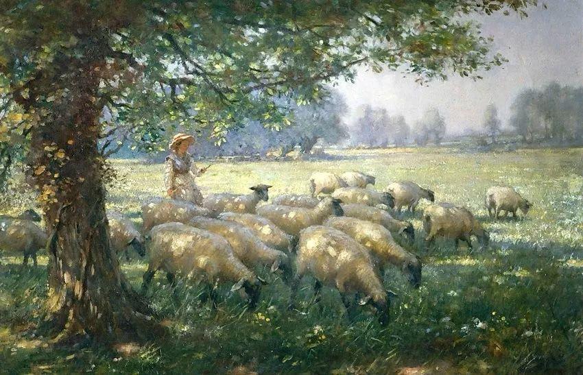 慢生活,英国画家威廉·凯·布莱克洛克插图12