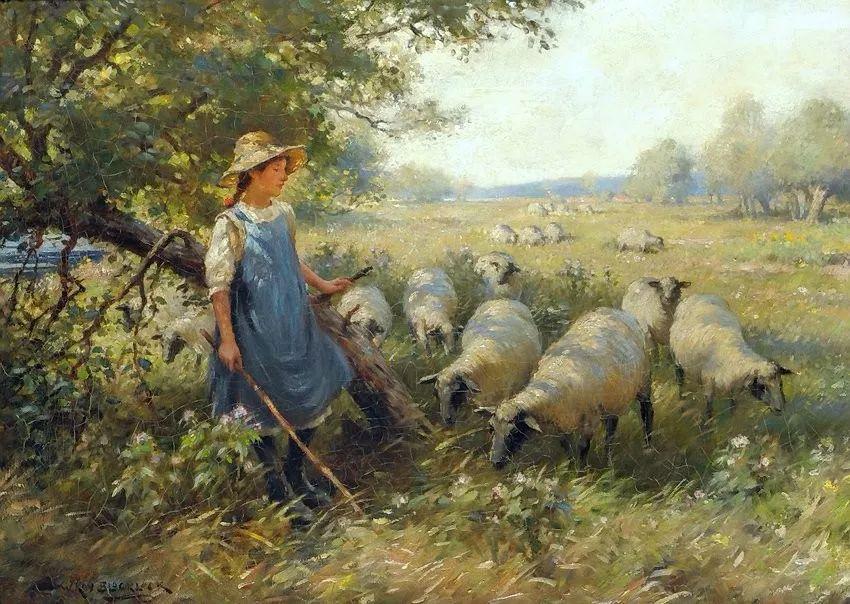 慢生活,英国画家威廉·凯·布莱克洛克插图13