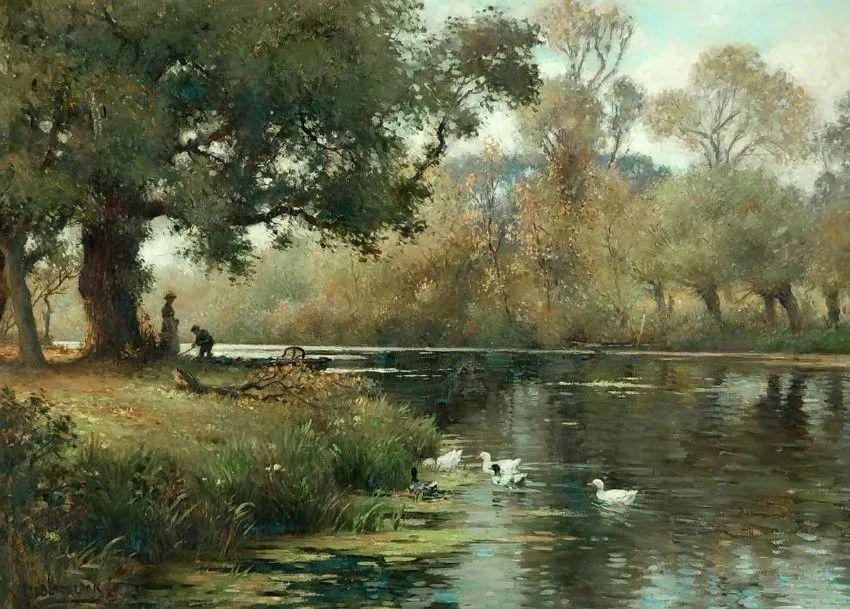 慢生活,英国画家威廉·凯·布莱克洛克插图14