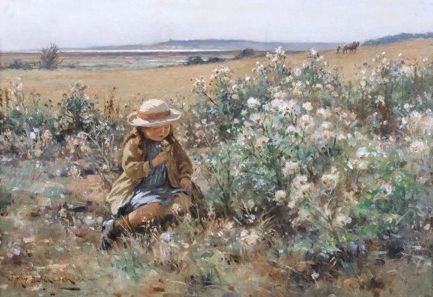 慢生活,英国画家威廉·凯·布莱克洛克插图15