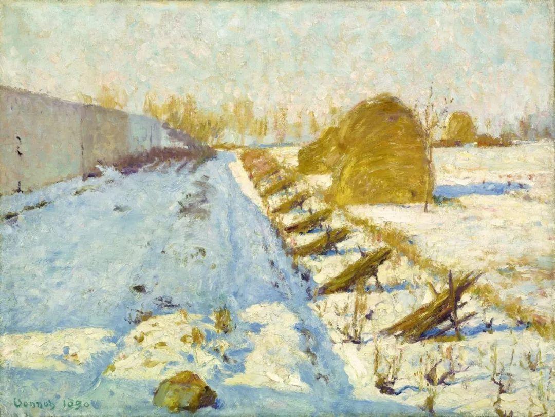 印象派风景,美国画家Robert Vonnoh插图11