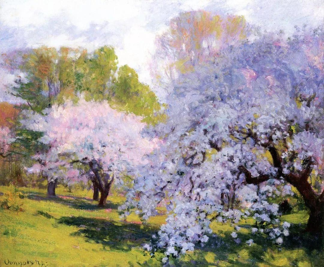 印象派风景,美国画家Robert Vonnoh插图17