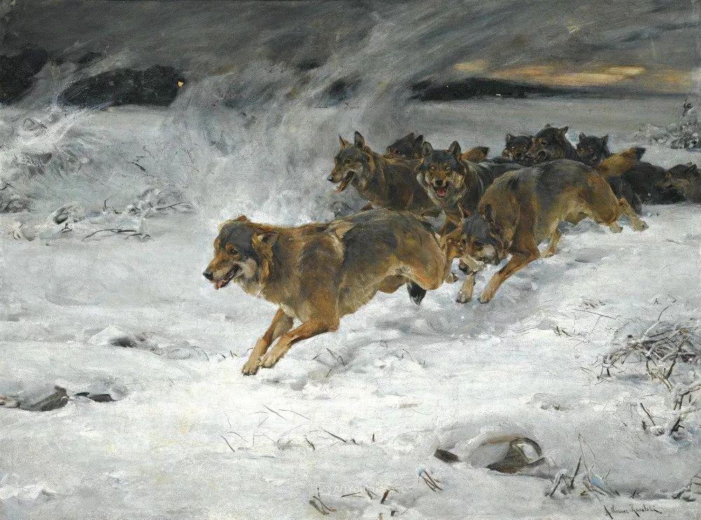 马拉雪橇,波兰艺术家科瓦尔斯基插图42