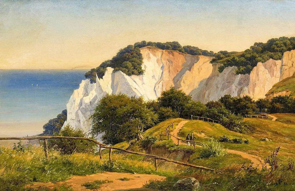 风景,丹麦艺术家亨里克森插图