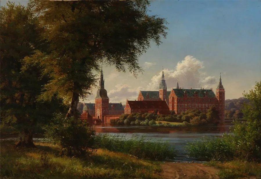 风景,丹麦艺术家亨里克森插图9