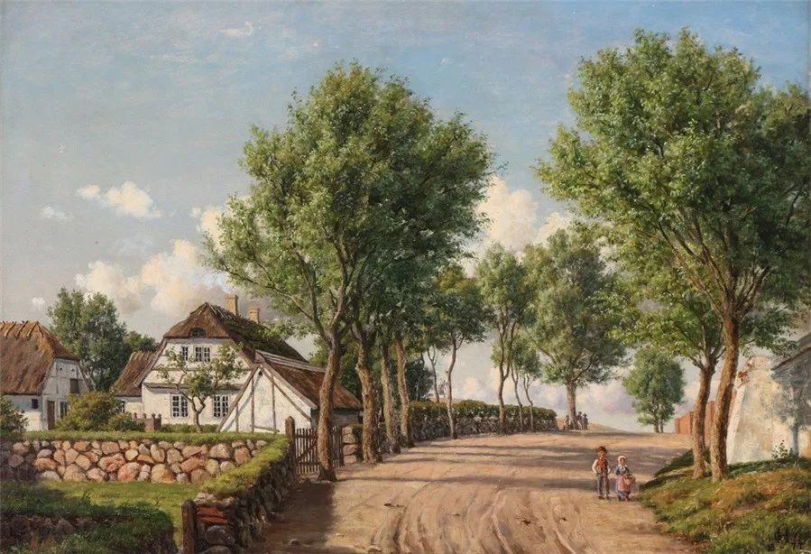 风景,丹麦艺术家亨里克森插图10
