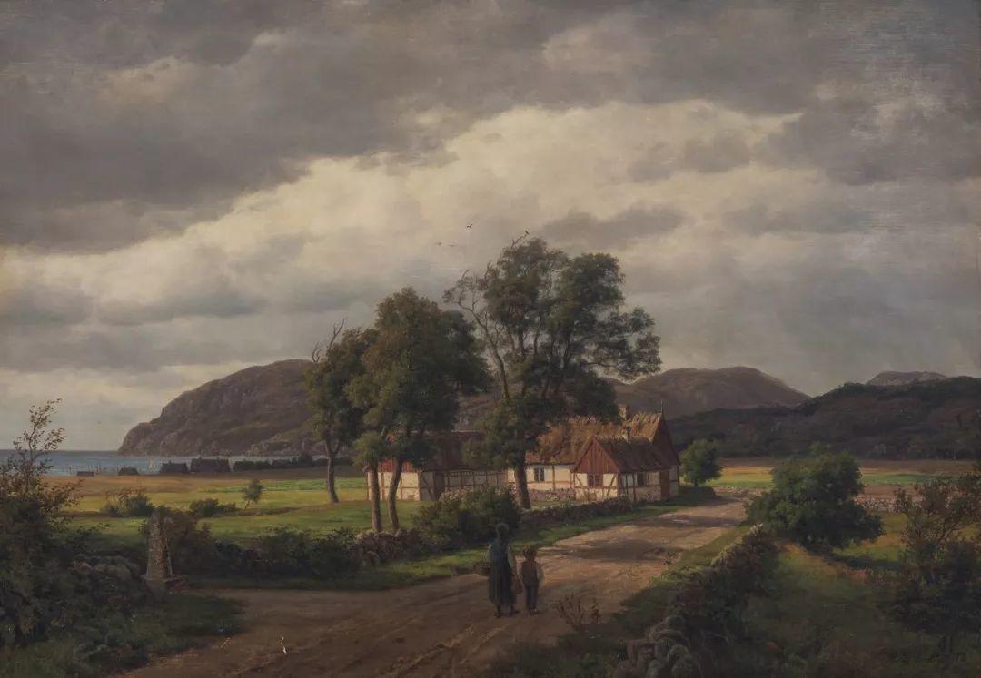 风景,丹麦艺术家亨里克森插图11
