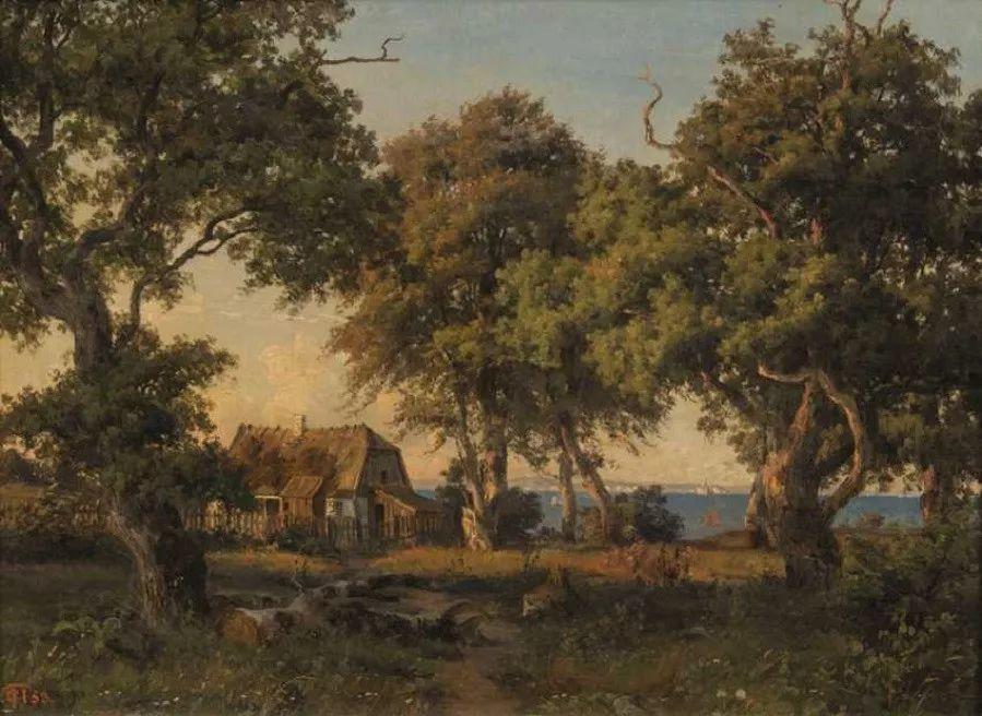 风景,丹麦艺术家亨里克森插图12