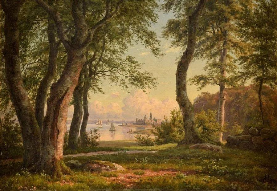 风景,丹麦艺术家亨里克森插图14