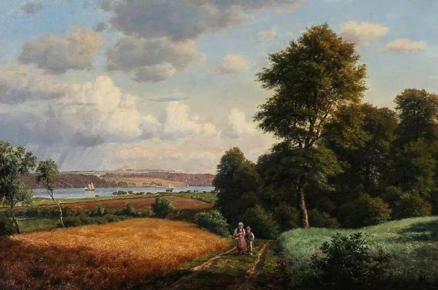 风景,丹麦艺术家亨里克森插图15
