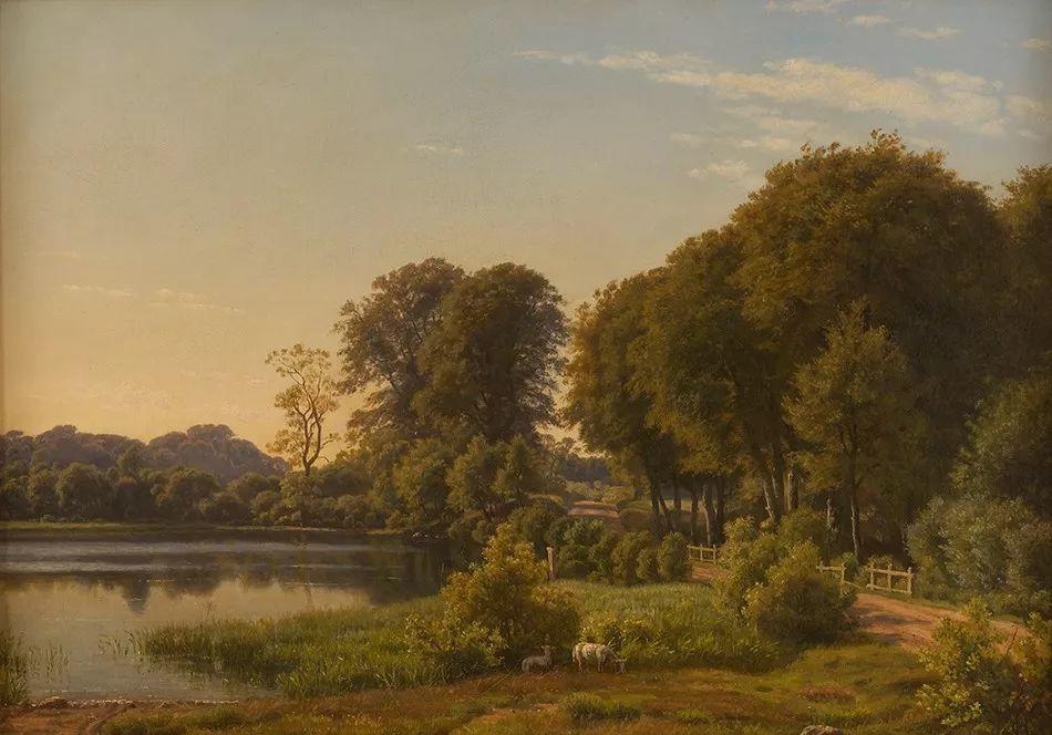 风景,丹麦艺术家亨里克森插图16