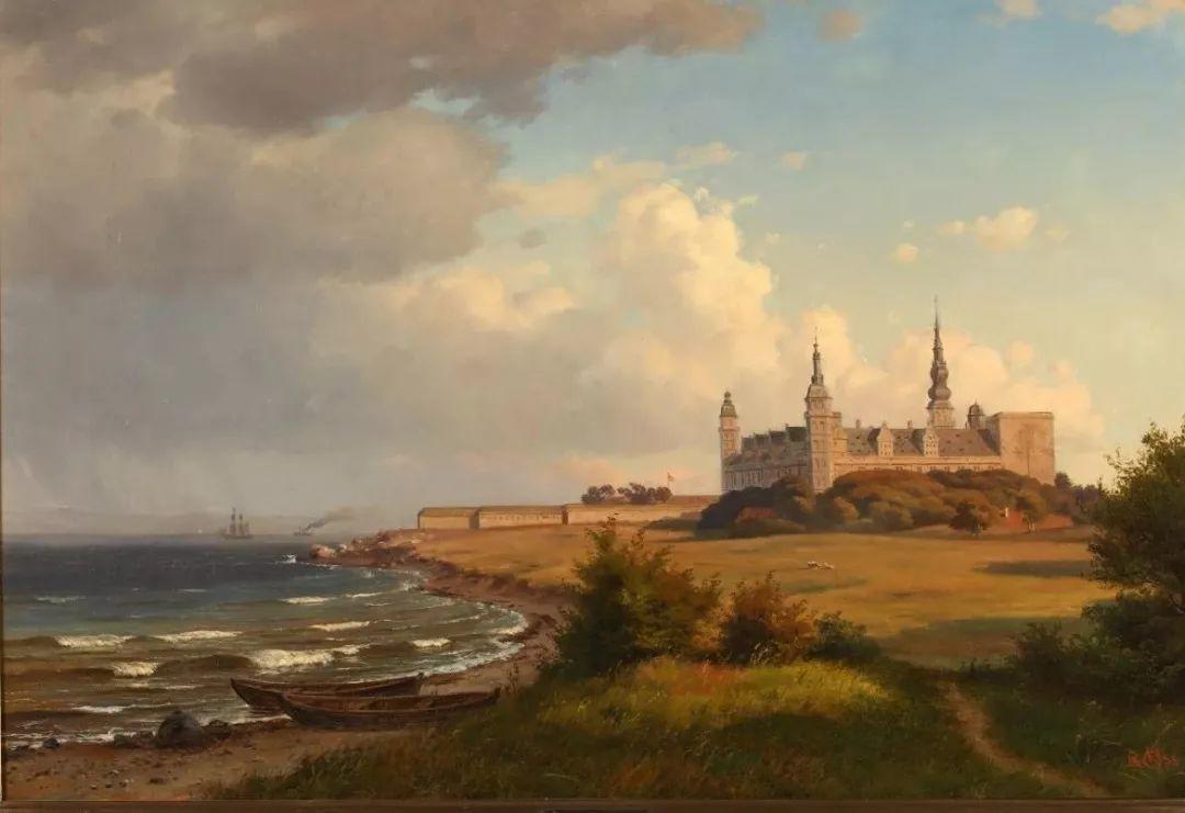 风景,丹麦艺术家亨里克森插图18