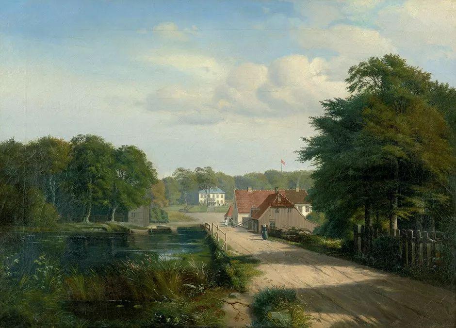 风景,丹麦艺术家亨里克森插图20