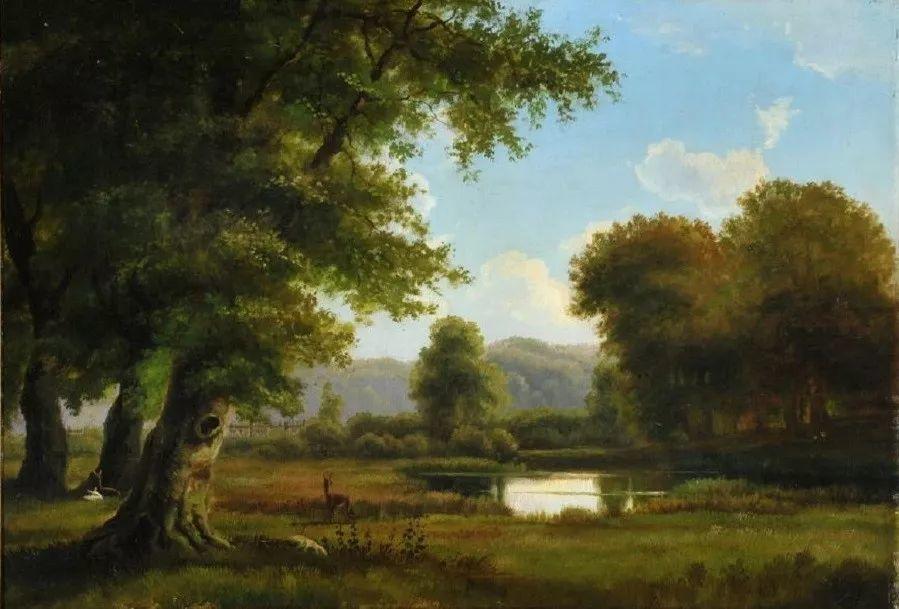 风景,丹麦艺术家亨里克森插图21
