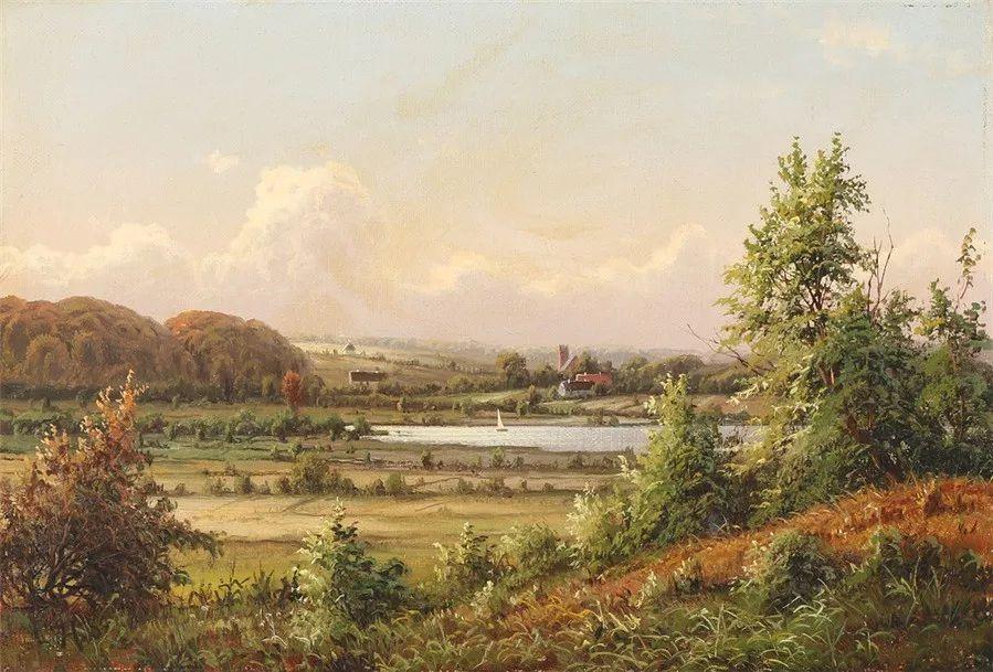 风景,丹麦艺术家亨里克森插图23