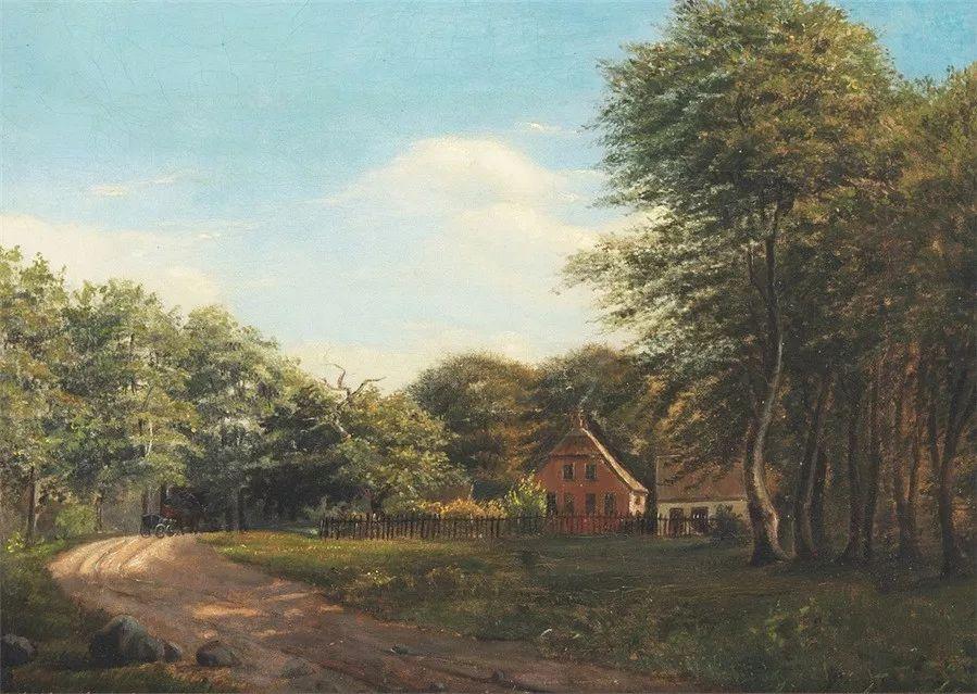 风景,丹麦艺术家亨里克森插图24