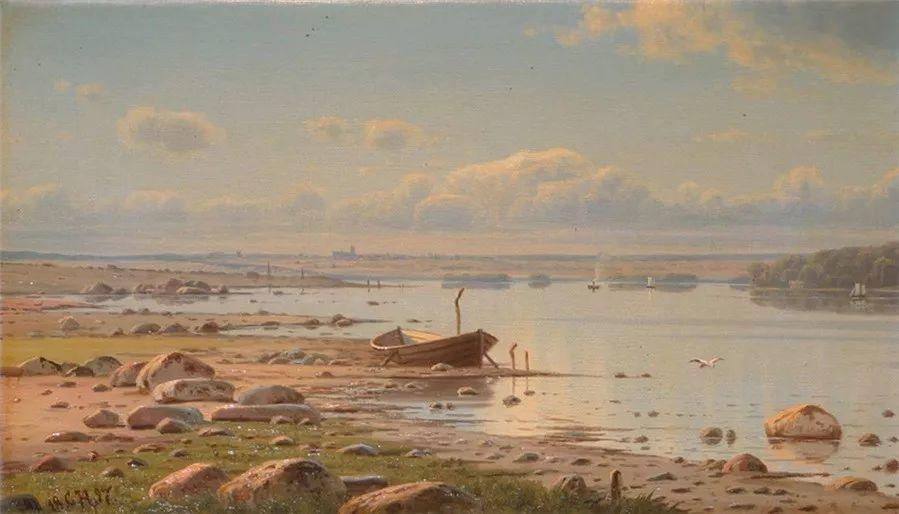 风景,丹麦艺术家亨里克森插图25
