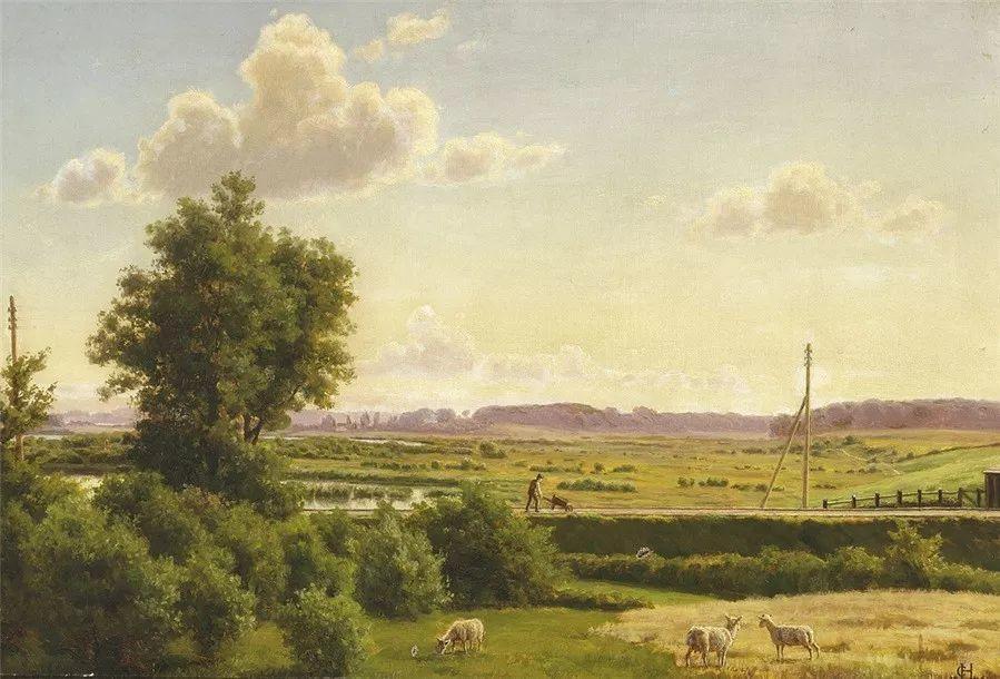 风景,丹麦艺术家亨里克森插图26