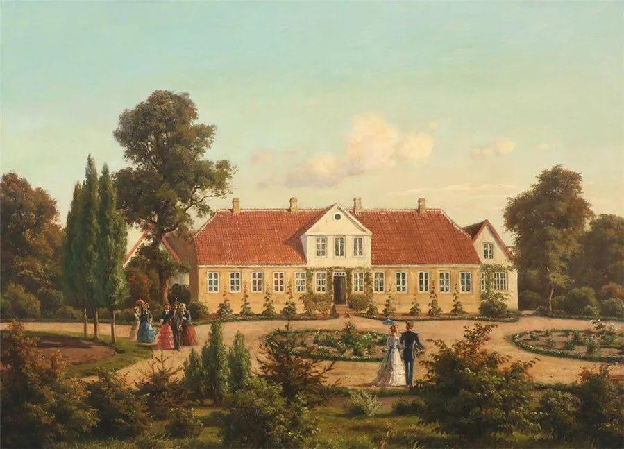 风景,丹麦艺术家亨里克森插图27