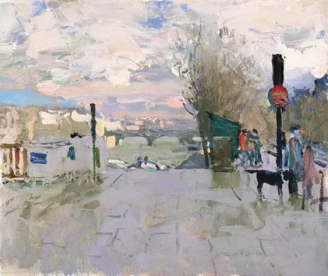 素雅的色调,俄罗斯油画家Bato Dugarzhapov插图5