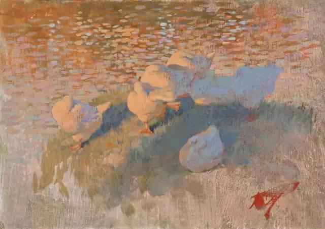 素雅的色调,俄罗斯油画家Bato Dugarzhapov插图16