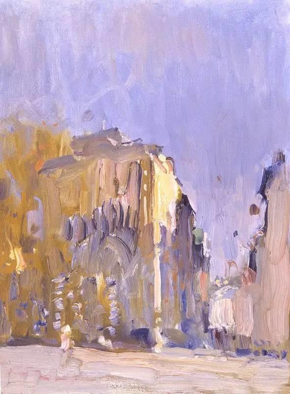 素雅的色调,俄罗斯油画家Bato Dugarzhapov插图21