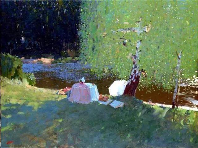 素雅的色调,俄罗斯油画家Bato Dugarzhapov插图25