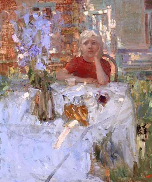 素雅的色调,俄罗斯油画家Bato Dugarzhapov插图31