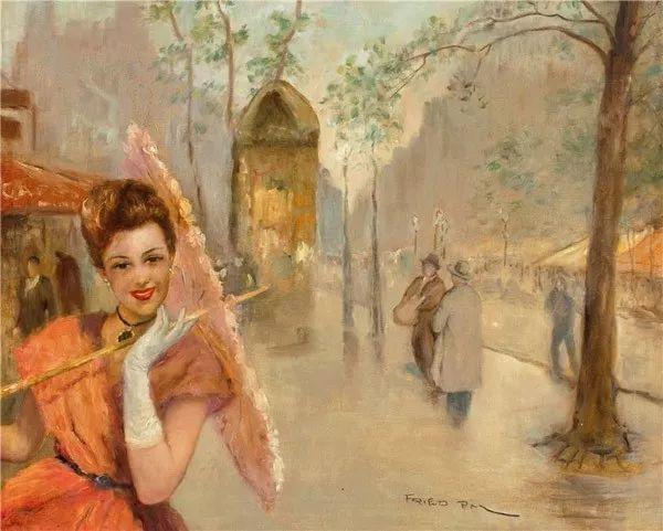 人物篇,匈牙利画家帕尔·弗里德插图10