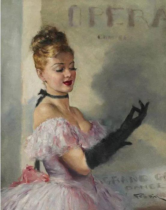 人物篇,匈牙利画家帕尔·弗里德插图18