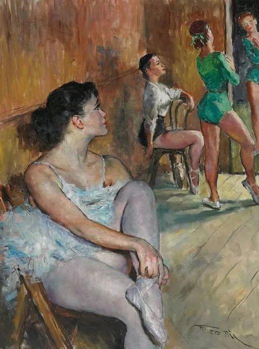 人物篇,匈牙利画家帕尔·弗里德插图20
