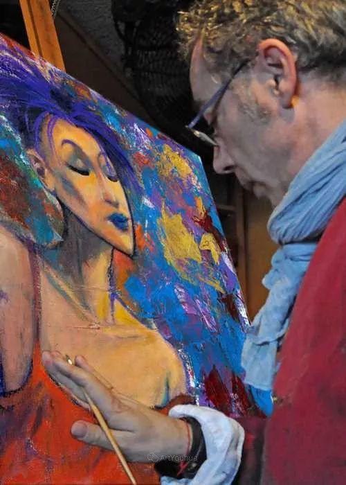 具象的故事叙述,法国画家乔尔·阿菲插图1
