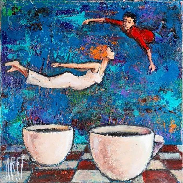 具象的故事叙述,法国画家乔尔·阿菲插图9