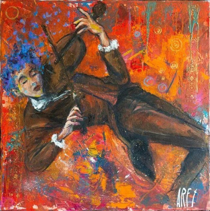 具象的故事叙述,法国画家乔尔·阿菲插图11