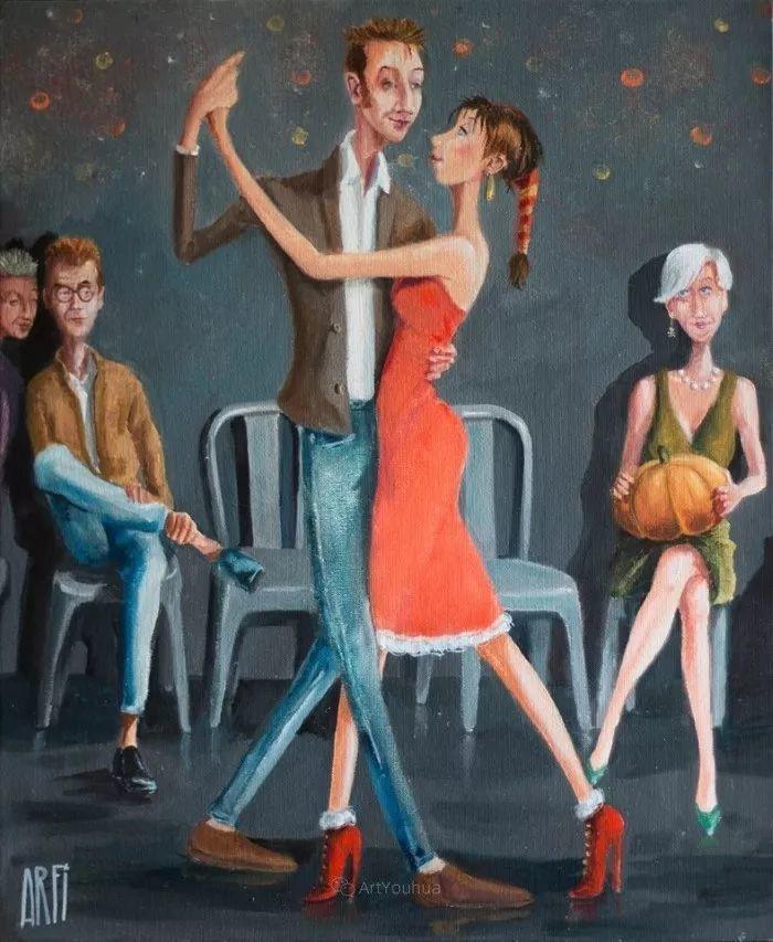 具象的故事叙述,法国画家乔尔·阿菲插图15